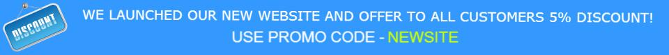New promo code