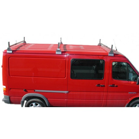 STAINLESS STEEL VAN RACK - 3 BARS