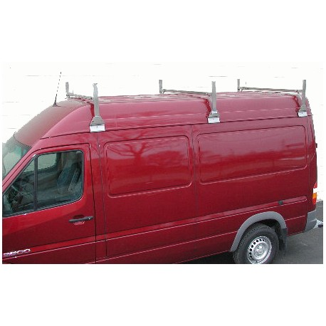 STAINLESS STEEL VAN RACK - SPRINTER HIGH ROOF