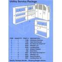 UTILITY SERVICE PKG. F/S VAN