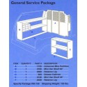 GENERAL SERVICE PKG. MINI VAN