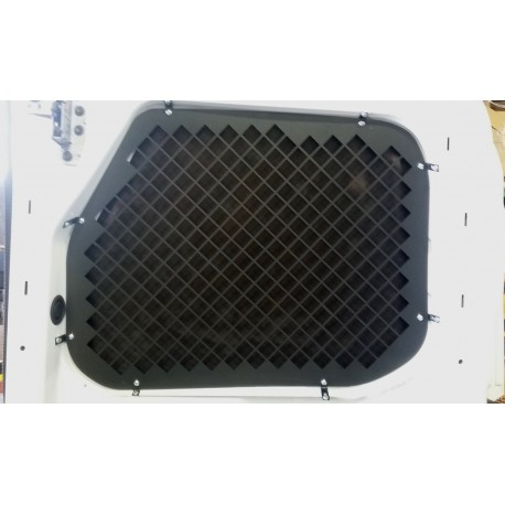 2015 + FORD TRANSIT WINDOW SCREENS FOR LOW ROOF REAR SWINGING CARGO DOORS
