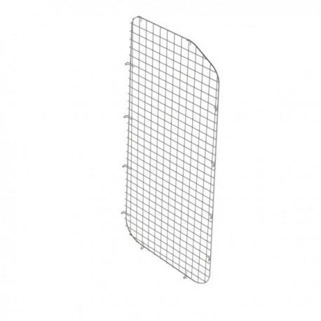 Ranger Design Window grill, passenger side sliding door, steel wire painted black, Ford Transit Low Roof
