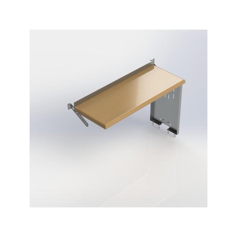 Ranger Design Workbench Aluminum W Hardwood Top One End