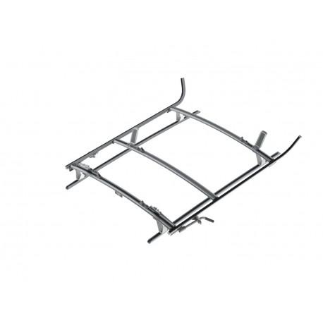 Ranger Design Combination Ladder Rack, Aluminum, 2 Bar, Mercedes Metris