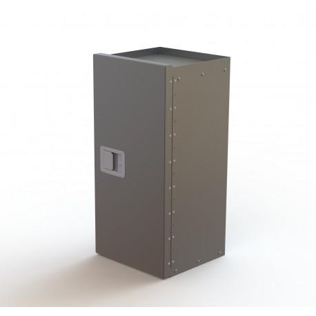 "Ranger Design Lockable Refrigerant Rack Cabinet, 33\\""H, Assy"