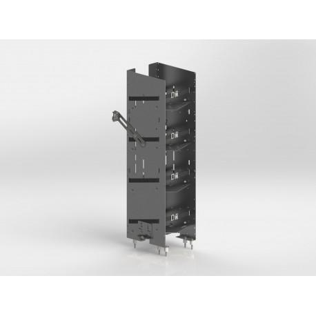 Ranger Design Refrigerant Rack For Cargo Vans, Square Back Unit