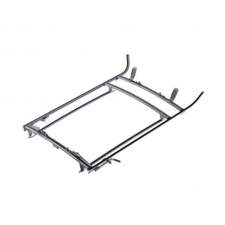Ranger Design Double Clamp Ladder Rack, Aluminum, 3 Bar, Nissan NV200 / City Express