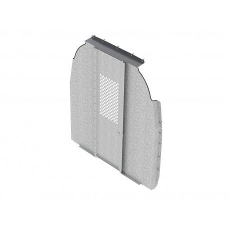 Ranger Design Swing Door Van Partition with Perforated Window, Steel, Sprinter High Roof