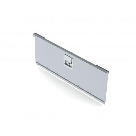 "Ranger Design Locking Door, Aluminum With Stainless Handle, 32 7/8\\""W X 12 1/16\\""H"