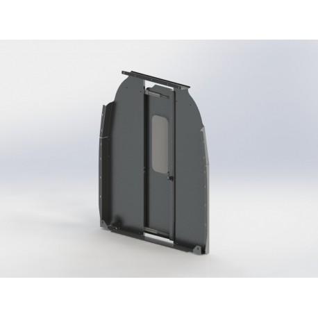 Ranger Design Mercedes Sprinter Sliding Door Cargo Van Partition, HR