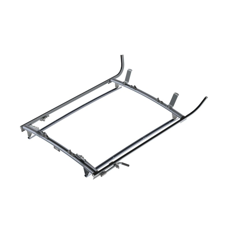 Ranger Design Double Clamp Ladder Rack Aluminum 2 Bar