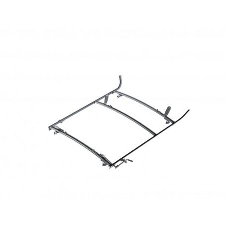 Ranger Design Combination Ladder Rack, Aluminum, 2 Bar, GM/Ford Full-Size Van