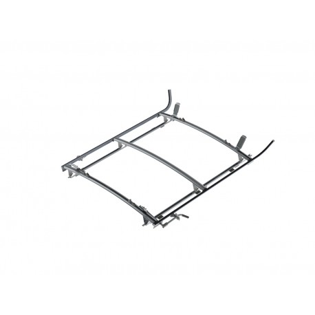 "Ranger Design Combination Ladder Rack, Aluminum, 3 Bar, Ram ProMaster 159\"" Wheelbase"