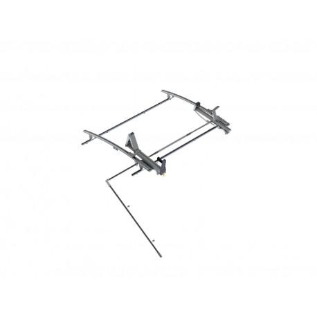 """Ranger Design Single Side Max Rack, Aluminum, 2 Bar, Ram ProMaster 136\\"""" Wheelbase"""