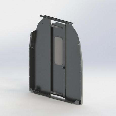 Mercedes Sprinter Sliding Door Cargo Van Partition, HR