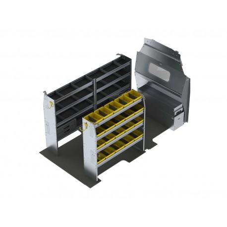 Ranger Design Aluminum Van Shelving Package, Ford Transit High Roof ,FTH-27