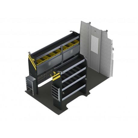 Ranger Design Electrician Van Shelving Package, Nissan NV High Roof, NVH-11