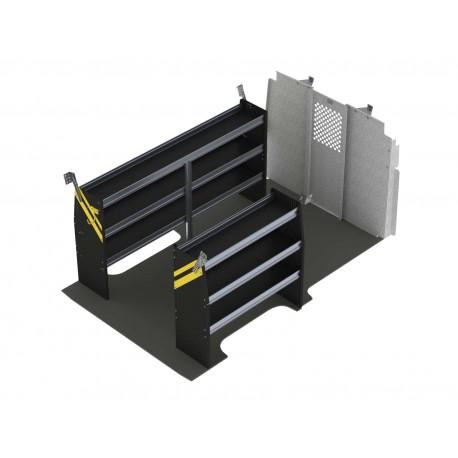 Ranger Design Contractor Van Shelving Package, Nissan NV Low Roof, NVL-10