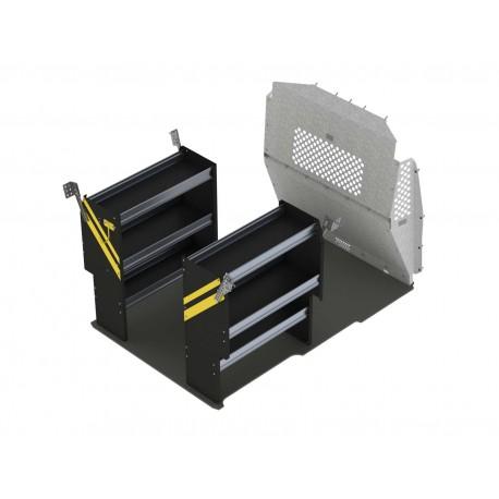 Ranger Design Contractor Van Shelving Package, RAM ProMaster City, PMC-10