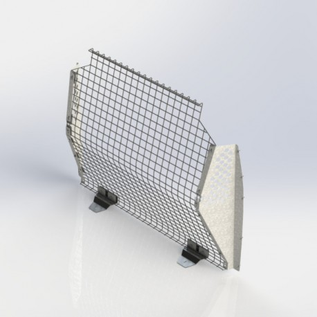 Transit Connect Partition, Contoured, Wire Mesh