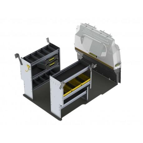 Ranger Design Aluminum Van Shelving Package, RAM ProMaster City, PMC-27
