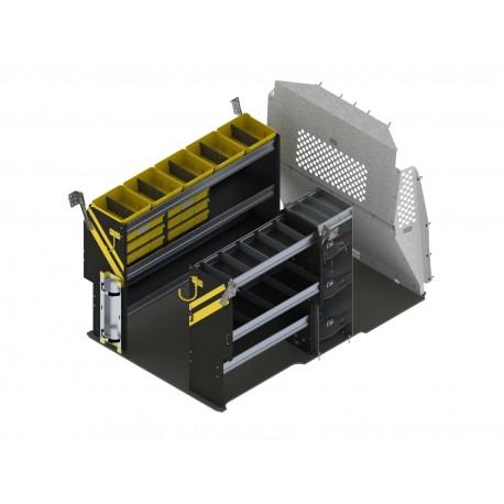 Ranger Design HVAC Van Shelving Package, RAM ProMaster City, PMD-12