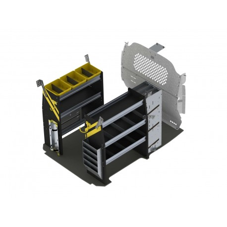 Ranger Design HVAC Van Shelving Package, Nissan NV200, CNR-12