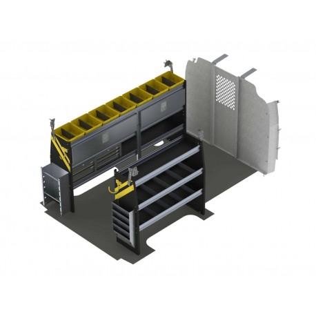 "Ranger Design Electrician Van Shelving Package, Chevrolet Express, 135\\"" WB, GSR-11"