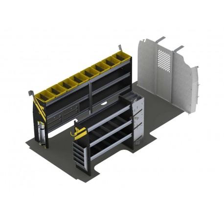 Ranger Design HVAC Van Shelving Package, Chevrolet Express, 155 WB, GSL-12