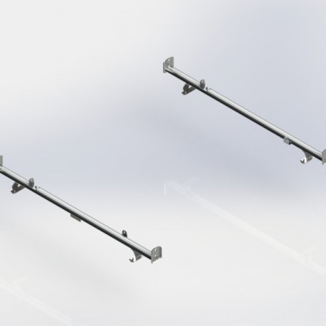 Ranger Design Cargo Rack, aluminum, 2 bar, Sprinter / Universal Fit