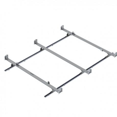 Ranger Design Cargo Rack, aluminum, 3 bar, Ford Transit LWB