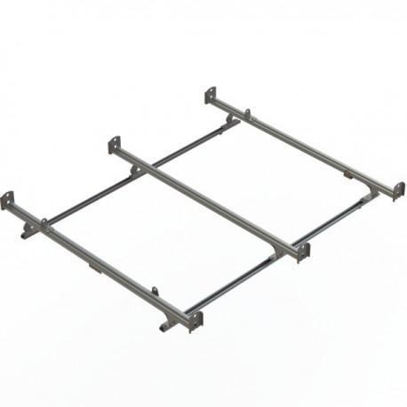Ranger Design Cargo Rack, aluminum, 3 bar, Ford Transit RWB