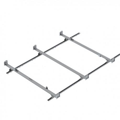 Ranger Design Cargo Rack, aluminum, 3 bar, Nissan NV Standard Roof