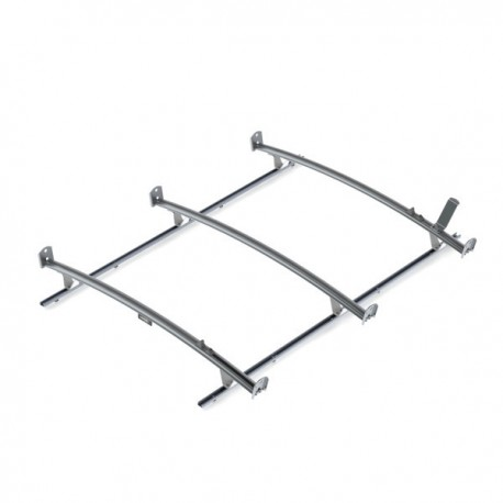 Ranger Design Standard ladder rack, aluminum, 3 bar, Ford Transit LWB