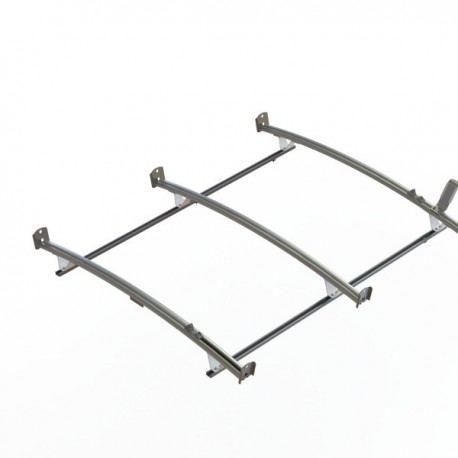 Ranger Design Standard ladder rack, aluminum, 3 bar, Ford Transit RWB