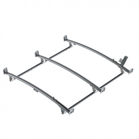 Ranger Design Standard ladder rack, aluminum, 3 bar, Nissan NV High Roof