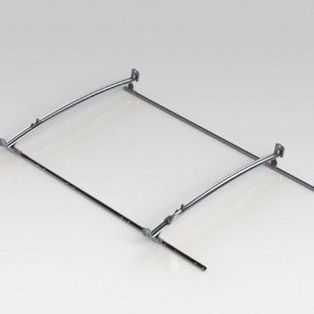 Ranger Design Standard ladder rack, aluminum, 2 bar, Nissan NV Standard Roof
