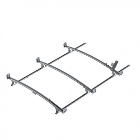 Ranger Design Standard ladder rack, aluminum, 3 bar, Nissan NV Standard Roof