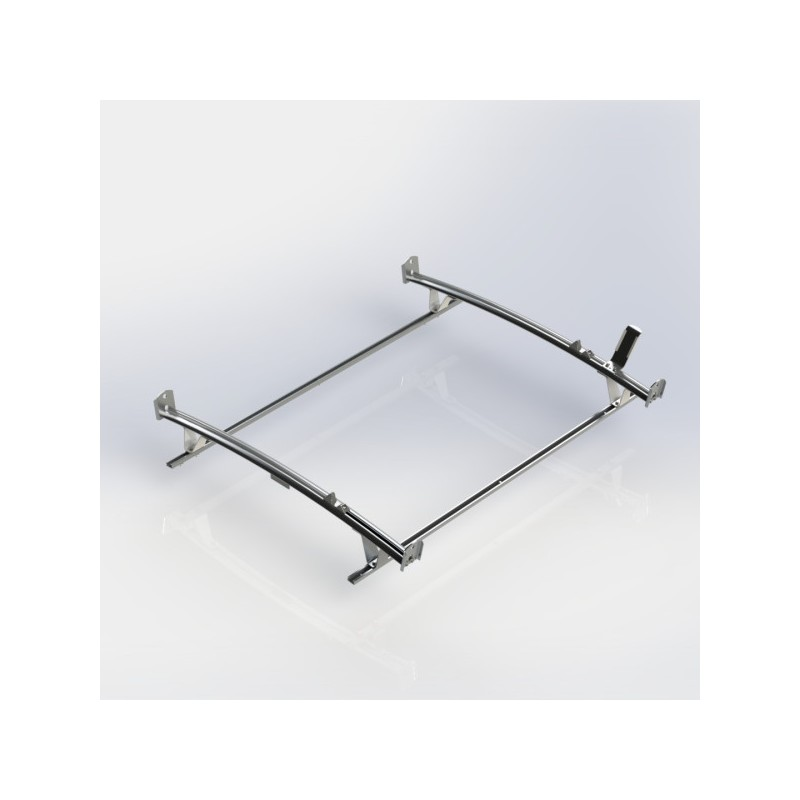 Ranger Design Standard Ladder Rack Aluminum 2 Bar Ram