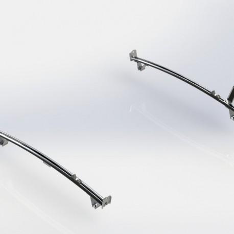 Ranger Design Standard ladder rack, aluminum, 2 bar, Ram ProMaster