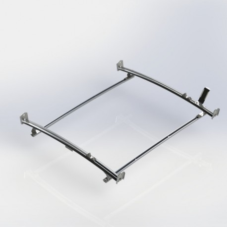 Ranger Design Standard ladder rack, aluminum, 2 bar, Ford Transit Connect