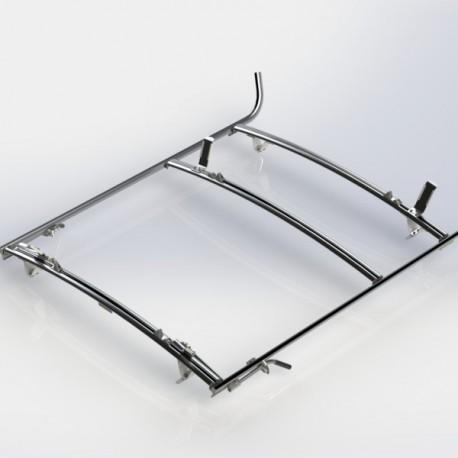 Ranger Design Combination ladder rack, aluminum, 2 bar, Sprinter / Universal Fit