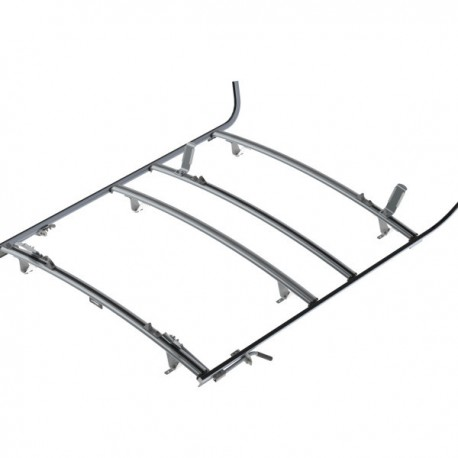 Ranger Design Combination ladder rack, aluminum, 3 bar, Sprinter / Universal Fit