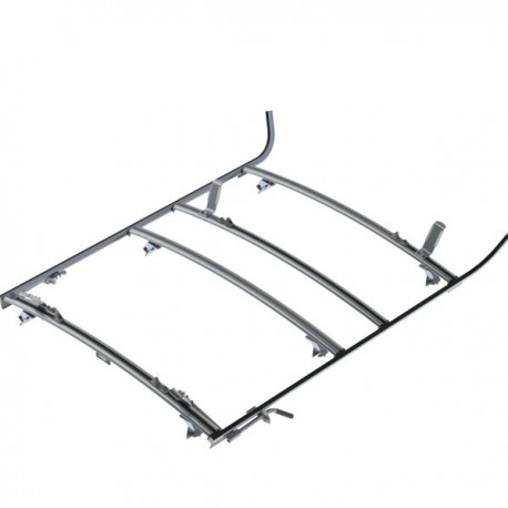 Ranger Design Combination ladder rack, aluminum, 3 bar, GM/Ford Full-Size Van