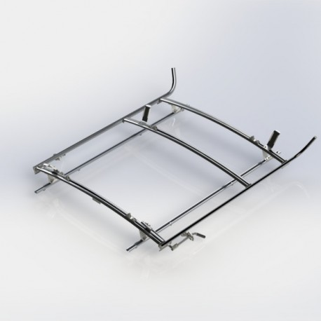 Ranger Design Combination ladder rack, aluminum, 2 bar, Ford Transit LWB