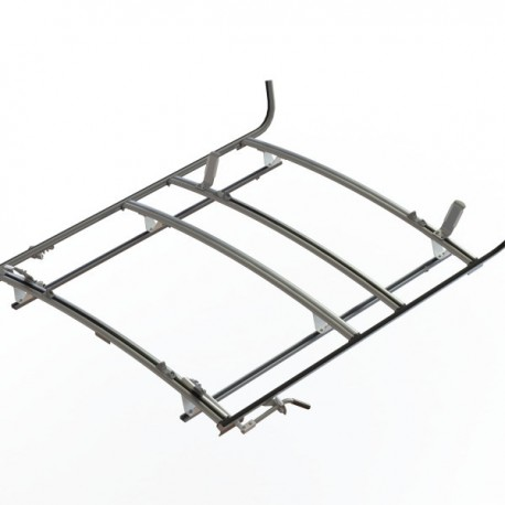 Ranger Design Combination ladder rack, aluminum, 3 bar, Ford Transit RWB