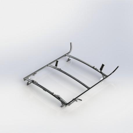 Ranger Design Combination ladder rack, aluminum, 2 bar, Ram CV / Universal Fit