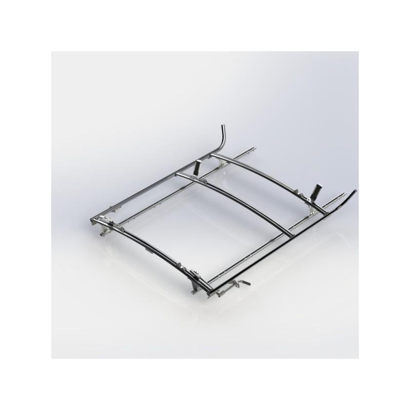 Ranger Design Combination Ladder Rack Aluminum 2 Bar