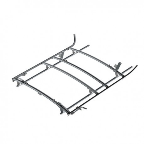 Ranger Design Combination ladder rack, aluminum, 3 bar, Nissan NV Standard Roof